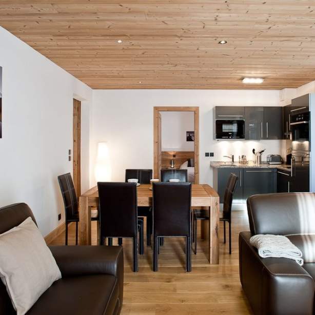 <strong>Les appartements de 70m²</strong><br /> Doux &amp; Cocooning